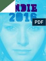Catálogo Indie 2016