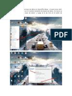 Creación de Una Base de Datos en Openoffice Base