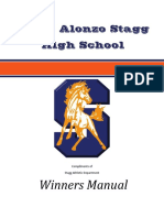 Stagg Winners Manual