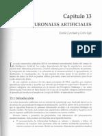 20 Capítulo 13. Redes Neuronales Artificiales