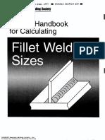角焊缝尺寸计算手册