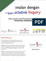 Berkenalan dengan Appreciative Inquiry
