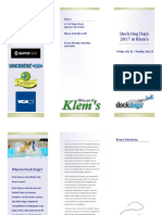 dock dogs brochure