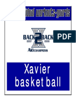 Xavier Guard Workouts