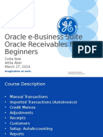 Oracle Application AR Beginners