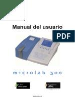 Microlab300 Manual Usuario