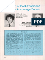12. Design of Anchorage Zones