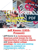 jeff koons collage ppt