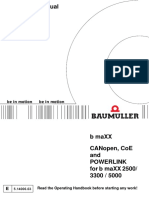 Baumuller Canopen Manual