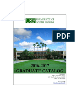 USF Grad Catalog 2016-2017