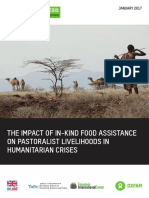 The Impact of In-Kind Food Assistance on Pastoralist Livelihoods in Humanitarian Crises