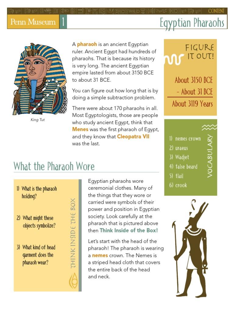 Pennmuseumegyptprevisitcombinedpdf Egyptian Pyramids Mummy