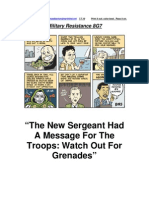 Military Resistance 8G7 Watch Out for Grenades