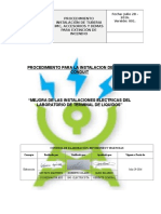 Pro. Para Instalacion de Tuberia Conduit Edificio Administrativo