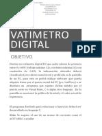 Watimetro Digital