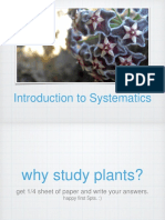 Introduction to Systematics