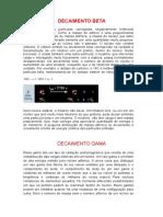 DECAIMENTO ALFA, DECAIMENTO BETA E DECAIMENTO GAMA.docx