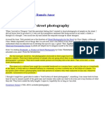 # a Brief History of Street Photography