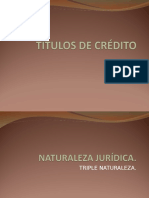 Diapositivas Títulos de Crédito