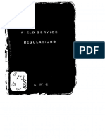 XField Service Regulations, 1905