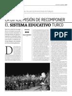 La difícil misión de recomponer el sistema educativo turco