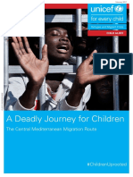 A deadly journey for children