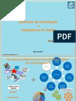 Indicadores de Saúde e Sistemas de Informação_2015