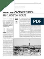 Gentrificación política en Kurdistán Norte