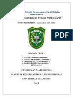Prosedur Pengembangan Evaluasi Pembelajaran