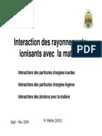 Interaction entre les rayonnements ionisants et la matière.pdf