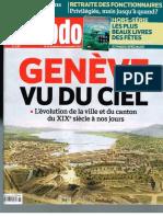 Genève vue du ciel Hebdo 2013