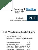 Welding Lectures 1-4