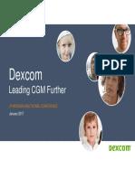 DexCom Investor Presentation 01-12-17