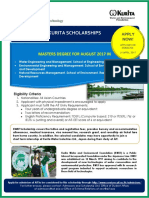 Kurita Ait Scholarships 2017