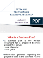 L3 - Business Plan