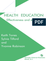 Health Education.