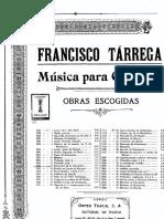 TÁRREGA, Francisco - Recuerdos de la Alhambra
