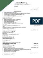 jessica kearney resume 2017