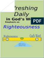 Righteousness March 2017