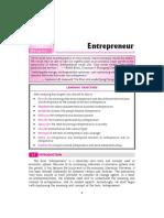 SP 1 Entreprenuer