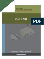 ICB. El Cheque. Lima, Ediciones caballero Bustamante, 2009.