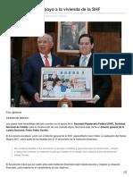 28/Febrero/2017 Loteria Nacional Reconoce Apoyo a La Vivienda de La SHF