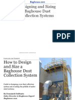 How to design and size a baghouse