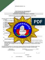 Formulir Pendaftaran Ts