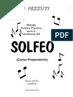 Método Teórico Práctico SOLFEO I (Tiero Pezzuti)