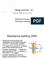 Welding Lecture 8
