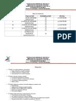 Plan de Evaluacion. Proyecto Nacional