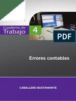 ICB. Errores Contables. Lima, Ediciones Caballero Bustamante, 2013.