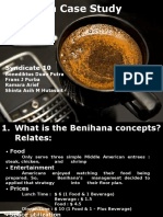 Benihana Case Study