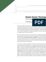 Parashat Shemot - The Names of God